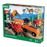 BRIO Деревянная железная дорога Грузоперевозки с самодвижущимся поездом 33165