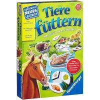 Познавательная игра-пазл для малышей «кормление животных» Ravensburger 25035
