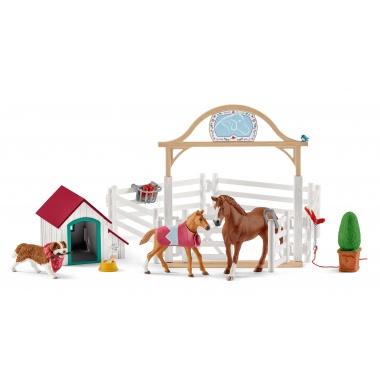 Лошади для гостей Ханны с собакой Руби 42458