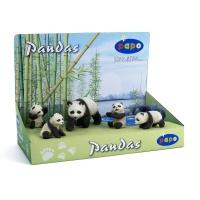 Набор семья панда с 4 детенышами Papo 50070