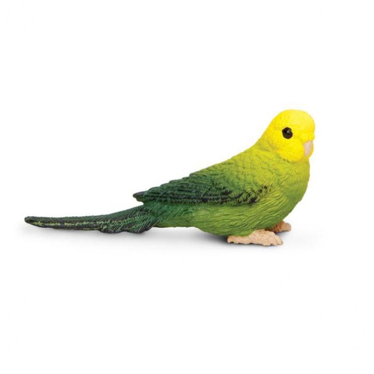 Птица Зеленый волнистый попугайчик Safari Ltd 150429