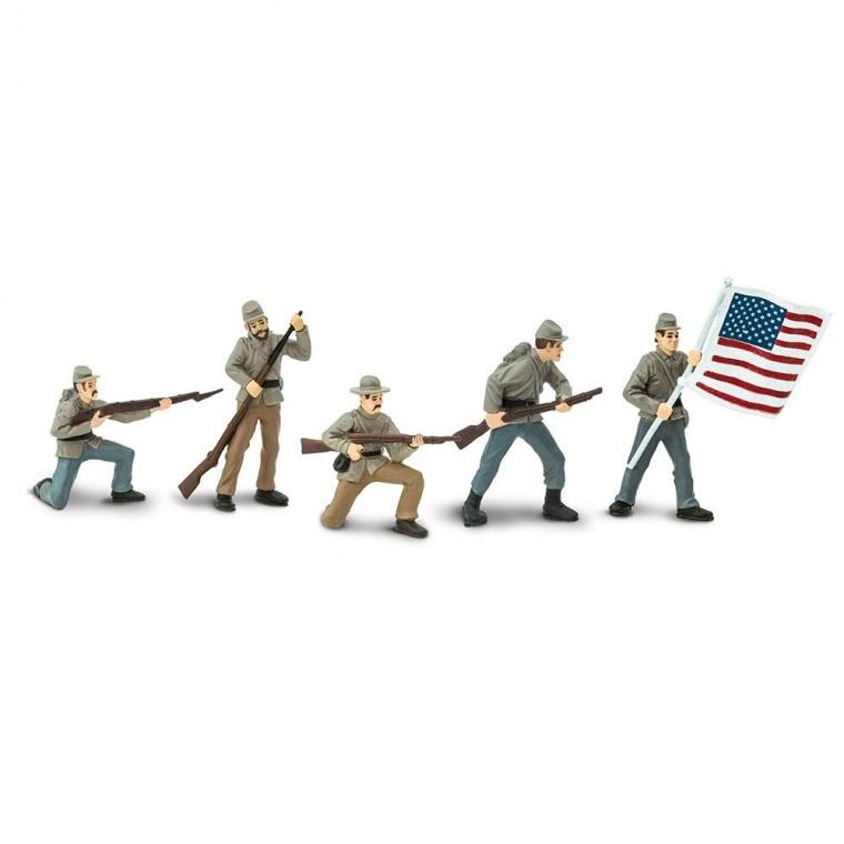 Набор Safari LTD Toob Гражданская война солдаты Конфедерации 1 679004