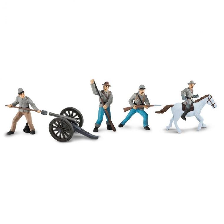 Набор Safari LTD Toob Гражданская война солдаты Конфедерации 2 679104
