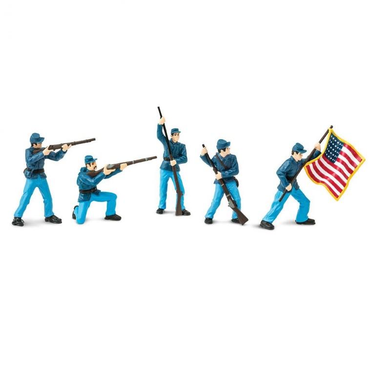 Набор Safari LTD Toob Гражданская Война солдаты Союза 1 678804