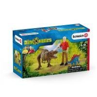 Набор атака динозавра Тираннозавра Schleich 41465