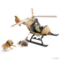 Большой ветеринарный спасательный вертолет Schleich 42476
