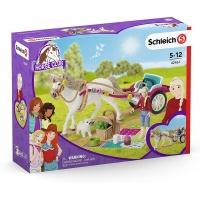 Набор карета экипаж для конного шоу Schleich 42467